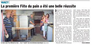 DL 1 Septembre 2015 Fête du Pain